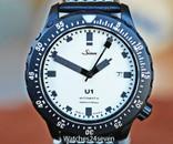 Sinn U1W Diver 1000 Meter Limited Edition White Dial Black PVD Case 44mm