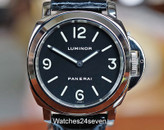 Panerai PAM 02 B Luminor Base Stainless Steel 44mm