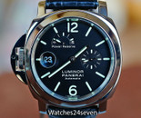 PANERAI PAM 123 G LUMINOR MARINA STEEL DESTRO POWER RESERVE 44mm