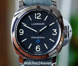 Panerai PAM 774 Luminor Base Model 3 Days Blue Logo Dial 44mm  ON HOLD