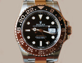 "Rolex GMT Master II Everose & Steel Two Tone ""Root Beer"" Ref. 126711"