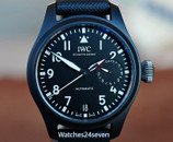 IWC Big Pilot Ceramic Top Gun Automatic 7 Days 46mm