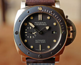 Panerai PAM 968 Submersible Auto 3days, Bronze Ceram Bezel 47mm