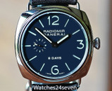 Panerai PAM 190 Radiomir JLC Movement 8 Days Power Reserve 45mm