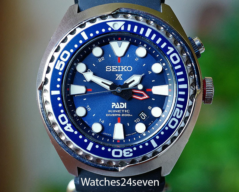 Seiko Prospex Kinetic Gmt Diver S Padi Special Edition Watches