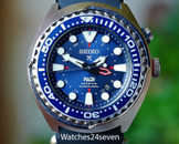 "Seiko Prospex Kinetic GMT Diver's ""PADI"" Special Edition"