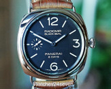 PANERAI PAM 609 RADIOMIR STEEL BLACK SEAL 8 DAYS 45MM