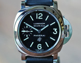 Panerai PAM 005 Luminor Marina  Black Logo Dial & Second Hand 44mm