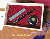 NAMIKI EMPEROR FOUNTAIN PEN SET URUSHI LACQUER IN BLACK