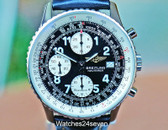 Breitling Old Navitimer II Stainless Steel Automatic Chronogrraph 41mm