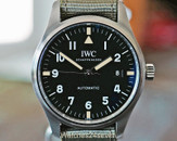 IWC Pilots Mark XVIII Tribute to Mark XI Special 40mm