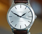 Ebel Classic 100 Automatic Date Silver Dial 40mm