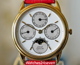 Piaget Automatic Perpetual Calendar 18k Yellow Gold 33.5mm