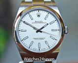 Rolex Oyster Perpetual Automatic No Date White Dial 39mm