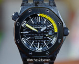 Audemars Piguet Royal Oak Offshore Diver Forged Carbon w Ceramic Bezel 42mm