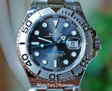 ROLEX Yachtmaster Rhodium Dial Automatic Steel & Platinum 40mm ON HOLD
