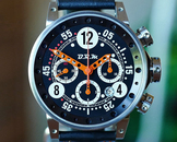 BRM V12 Automatic Date Chronograph Black & Orange Dial 44mm
