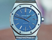 Audemars Piguet Royal Oak Stainless Steel Boutique Blue 41mm