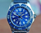 Breitling Superoean II 44 Gun Blue Dial 1000 Meter Diver ON HOLD
