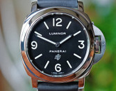 Panerai PAM 000 Luminor Base w Black Logo Dial 44mm