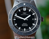 IWC GST Aquatimer Automatic Date Titanium 42mm Serviced by IWC