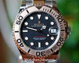 Rolex Yachtmaster 2 Tone Everose & Steel 37mm