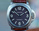 Panerai PAM 55 Luminor Base Titanium Tobacco Dial 44mm