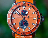 Ulysse Nardin Maxi Marine Diver Chronometer Orange Dial 43mm ON HOLD