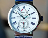 Ulysse Nardin Marine Chronometer Monaco LTD Steel 43mm