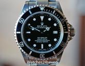 Rolex Sea-Dweller Automatic Date Steel Dive Watch 40mm. Ref. 16600