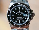 Rolex Submariner Automatic Date Ceramic Bezel Oyster Bracelet 40mm.  116610LN