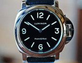 Panerai PAM 112 G Luminor Base Painted Dial Decorated Mvmt 44mm