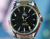 Omega Seamaster Aqua Terra CO‑AXIAL Black Dial Anti-Magnetic 41.5 MM