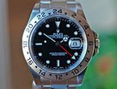 Rolex Explorer II GMT Black Dial, Red Hand, Steel 40mm Ref. 16570