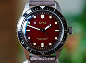 Oris Divers Sixty Fife Redbar Limited Edition of 100 Units 40mm