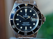 Rolex Submariner Oyster Stainless Steel 40mm Transitional Ref. 16800