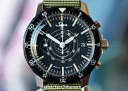 Sinn 103 St OU Chronograph Tachymeter Automatic Date Black 41mm
