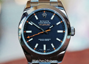 Rolex Milgauss Black Dial Steel Oyster Bracelet Automatic Antimagnetic 40mm