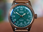 Oris Big Crown Pointer Date Bronze & Green 80th Anniversary Edition