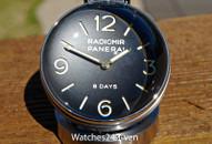 Panerai PAM 581 Radiomir Sapphire Desk Clock 8 Days