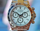 Rolex Daytona Cosmograph Chronograph Steel White 40mm ON HOLD