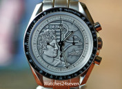 Omega Speedmaster Moonwatch Apollo XVII Silver Dial LTD 41mm