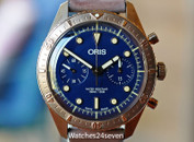 Oris Bronze Chronograph Carl Brashear LTD 43mm