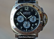 Panerai PAM 162 Luminor Chronograph w Montagrappa Pen LTD 44mm