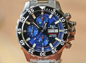 Ball Engineer Hydrocarbon NEDU Chronograph Blue Black Dial Titanium 42mm