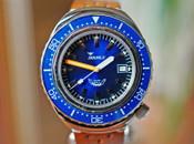 Squale 2002A Diver 101 ATMOS Blue Dial & Bakelite Bezel 44mm