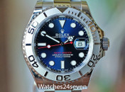 Rolex Yacht-Master 40 Steel & Platinum Blue Dial 40mm ON HOLD