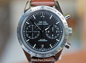 Omega Speedmaster '57 Co-Axial Chronograph Black Dial Steel 41mm