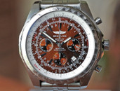 Breitling Bentley Motors T Chronograph Brown Dial Steel 48mm