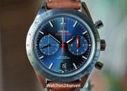 Omega Speedmaster '57 Co-Axial Chronograph Blue Dial Steel 41.5mm